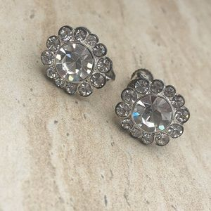 Sparkly Vintage Adjustable Clip On Earrings